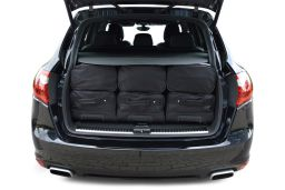 Porsche Cayenne II (92A) 2010-2017 Car-Bags.com travel bag set (4)