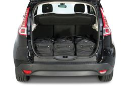 Renault Scénic III 2009-2016 Car-Bags.com travel bag set (2)
