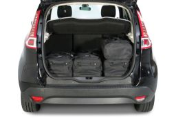 Renault Scénic III 2009-2016 Car-Bags.com travel bag set (3)