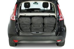Renault Scénic III 2009-2016 Car-Bags.com travel bag set (4)