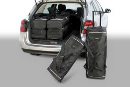 Renault Laguna III Estate / Grandtour 2007-2015 Car-Bags.com travel bag set (1)