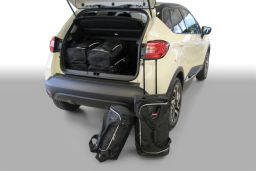 Renault Captur 2014- 5 door Car-Bags.com travel bag set (1)