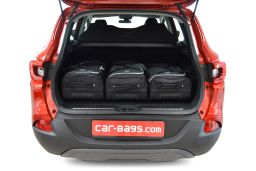Renault Kadjar 2015- Car-Bags.com travel bag set (2)