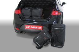 Seat Leon (1P) 2005-2012 3 & 5 door Car-Bags.com travel bag set (1)