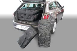 Seat Leon ST (5F) 2014- Car-Bags.com travel bag set (1)