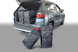 Seat Ateca low boot floor 2016- Car-Bags.com travel bag set (1)
