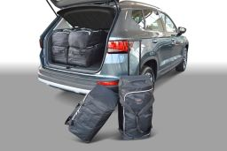 Seat Ateca high boot floor 2016- Car-Bags.com travel bag set (1)