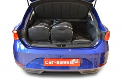 Seat Leon 2020- 5 door Car-Bags.com travel bag set (3)