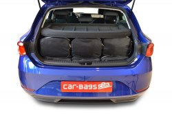 Seat Leon 2020- 5 door Car-Bags.com travel bag set (4)