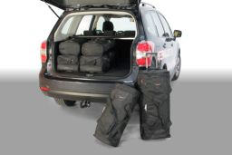 Subaru Forester (SJ) 2013- Car-Bags.com travel bag set (1)