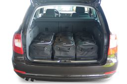 Skoda Superb II (3T) Combi 2009-2015 Car-Bags.com travel bag set (2)