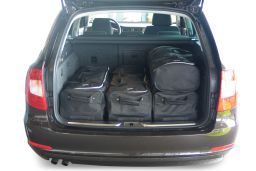 Skoda Superb II (3T) Combi 2009-2015 Car-Bags.com travel bag set (3)