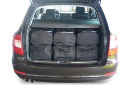 Skoda Superb II (3T) Combi 2009-2015 Car-Bags.com travel bag set (4)
