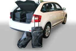 Skoda Rapid Spaceback (NH1) 2013- 5 door Car-Bags.com travel bag set (1)