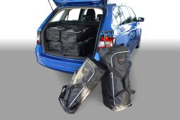Skoda Fabia III (NJ) combi 2014- Car-Bags.com travel bag set (1)