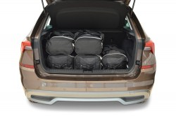 Skoda Kamiq 2019- Car-Bags.com travel bag set (3)