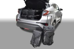 Toyota C-HR 2017- 3 & 5 door Car-Bags.com travel bag set (1)
