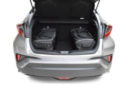 Toyota C-HR 2017- 3 & 5 door Car-Bags.com travel bag set (2)
