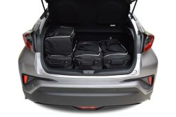 Toyota C-HR 2017- 3 & 5 door Car-Bags.com travel bag set (3)