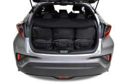 Toyota C-HR 2017- 3 & 5 door Car-Bags.com travel bag set (4)