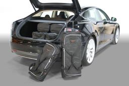 Tesla Model S 2012- 5 door Car-Bags.com travel bag set (1)