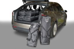 Tesla Model X 2015- 5 door Car-Bags.com travel bag set (1)