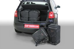 Volkswagen Golf V (1K) 2003-2008 3 & 5 door Car-Bags.com travel bag set (1)