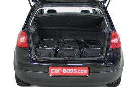 Volkswagen Golf V (1K) 2003-2008 3 & 5 door Car-Bags.com travel bag set (2)