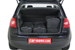 Volkswagen Golf V (1K) 2003-2008 3 & 5 door Car-Bags.com travel bag set (3)