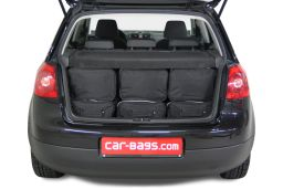 Volkswagen Golf V (1K) 2003-2008 3 & 5 door Car-Bags.com travel bag set (4)