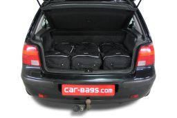 Volkswagen Golf IV (1J) 1997-2003 3 & 5 door Car-Bags.com travel bag set (2)