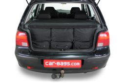 Volkswagen Golf IV (1J) 1997-2003 3 & 5 door Car-Bags.com travel bag set (4)