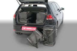Volkswagen Golf VII incl. e-Golf (5G) 2012- 3 & 5 door Car-Bags.com travel bag set (1)