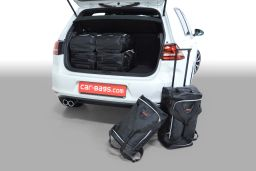 Volkswagen Golf VII GTE 2014- 5 door Car-Bags.com travel bag set (1)