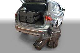 Volkswagen Tiguan II high boot floor 2015- Car-Bags.com travel bag set (1)