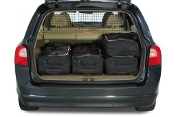 Volvo V70 (P24) 2007-2016 Car-Bags.com travel bag set (3)