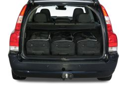 Volvo V70 (P26) 2001-2007 Car-Bags.com travel bag set (2)