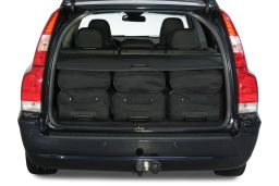 Volvo V70 (P26) 2001-2007 Car-Bags.com travel bag set (4)