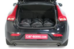 Volvo V40 (P1) 2012- 5 door Car-Bags.com travel bag set (2)