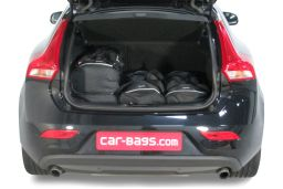 Volvo V40 (P1) 2012- 5 door Car-Bags.com travel bag set (3)