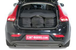 Volvo V40 (P1) 2012- 5 door Car-Bags.com travel bag set (4)