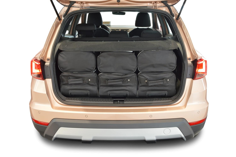 car bags reisetaschen set seat arona 2017 heute car bags reisetaschen. Black Bedroom Furniture Sets. Home Design Ideas