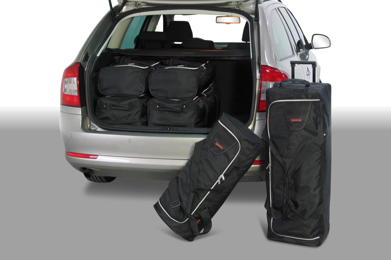Car-Bags Skoda Octavia III (5E) Combi 2013-présent Car-Bags Set De Sacs De Voyage S50501S cJoi22t