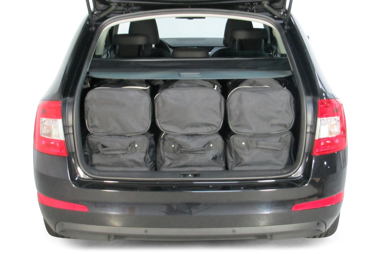 Autotaschen Skoda Octavia Iii Combi 5e Massgeschneidert Car Bags Com