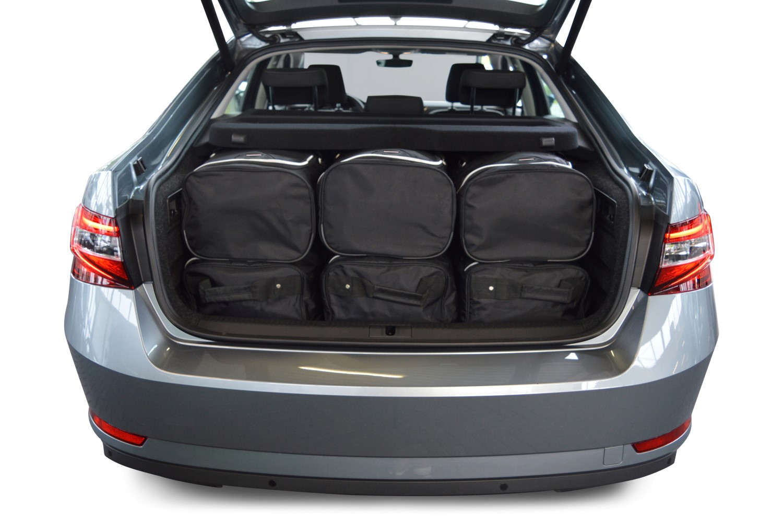 superb skoda superb iii 3v 2015 heden 5d car bags. Black Bedroom Furniture Sets. Home Design Ideas