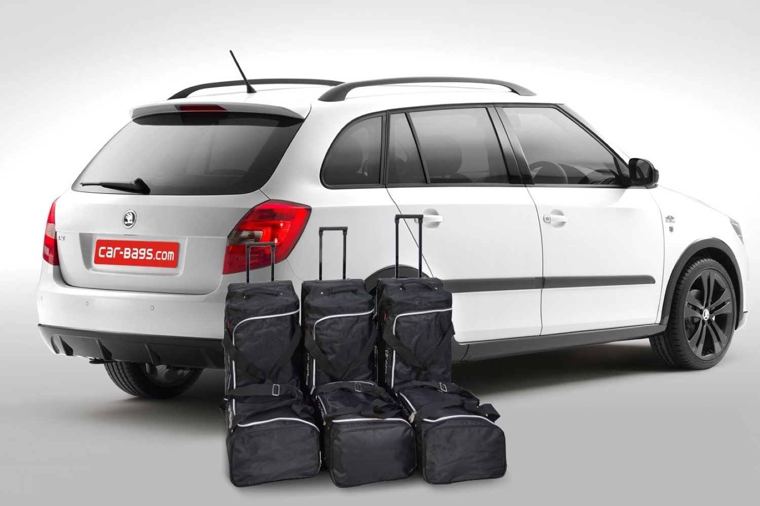 fabia skoda fabia ii combi 5j 2007 2014 travel bag set. Black Bedroom Furniture Sets. Home Design Ideas