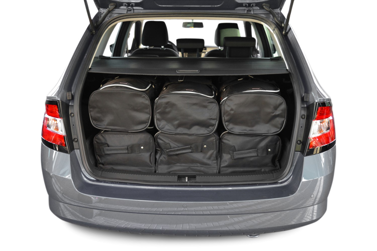 fabia skoda fabia ii combi 5j 2007 2014 reistassenset. Black Bedroom Furniture Sets. Home Design Ideas