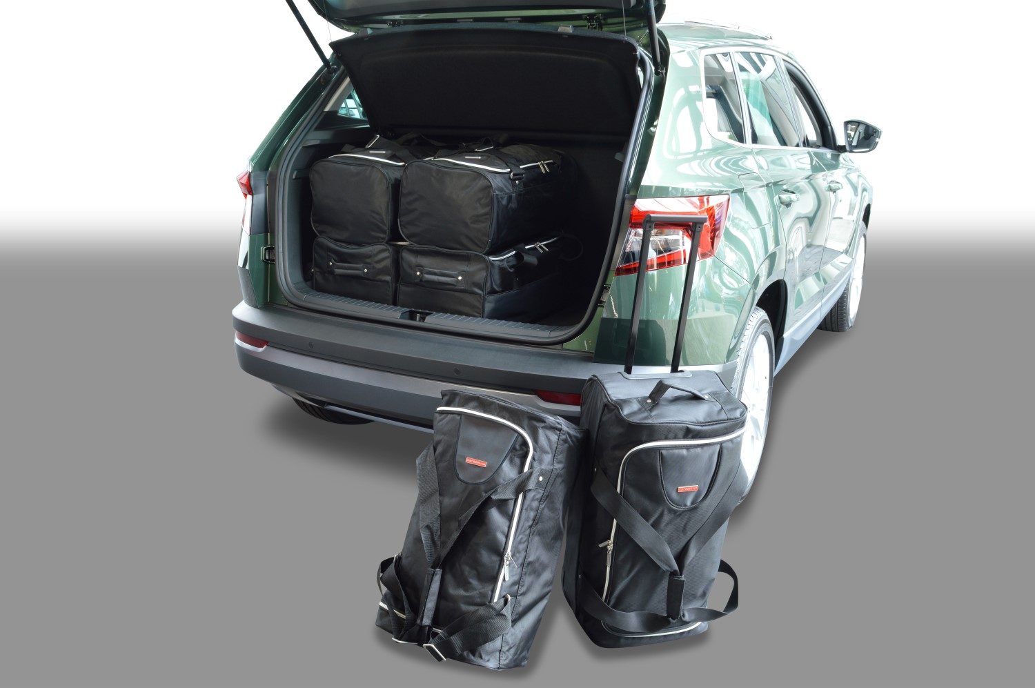 skoda karoq car travel bags car. Black Bedroom Furniture Sets. Home Design Ideas