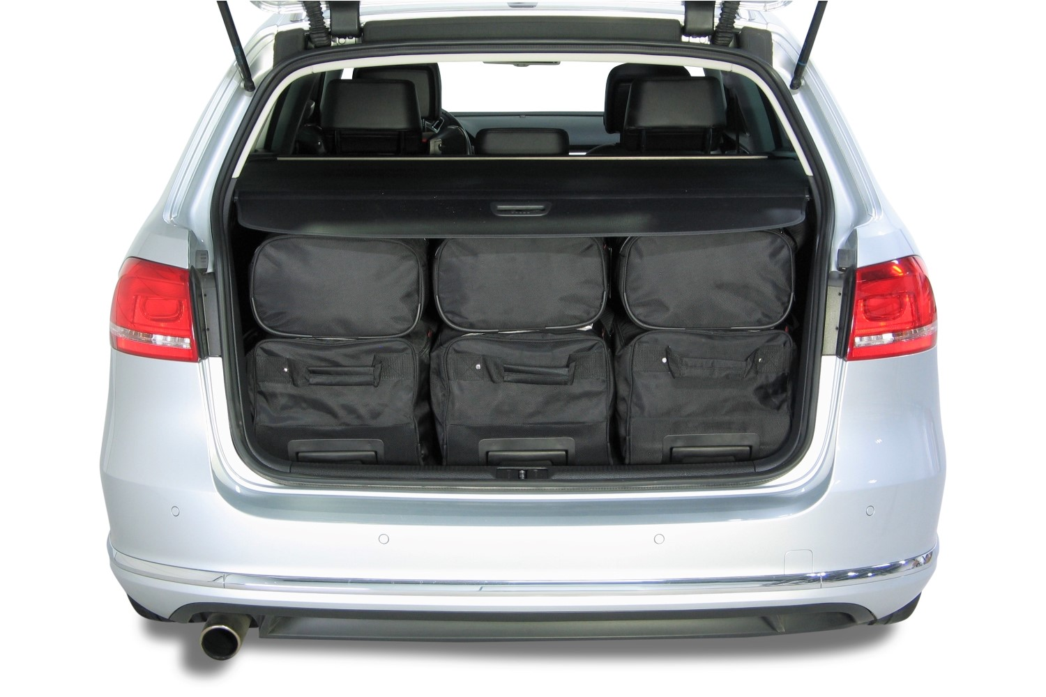 passat volkswagen passat b7 variant 2010 2014 car bags reistassenset. Black Bedroom Furniture Sets. Home Design Ideas