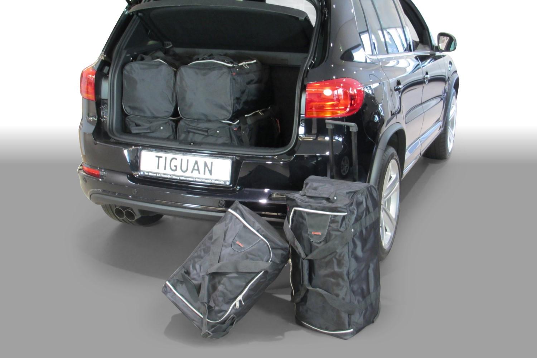 Car-Bags Volkswagen Tiguan (5N) 2007-2015 Car-Bags Set De Sacs De Voyage (plancher Du Coffre Bas) V11001S QUUxZB5Qmr